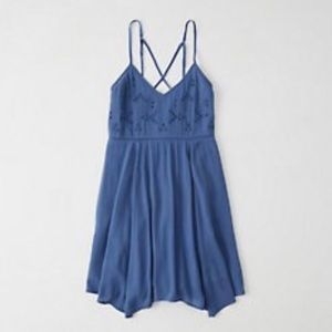 Abercrombie Blue Summer Dress